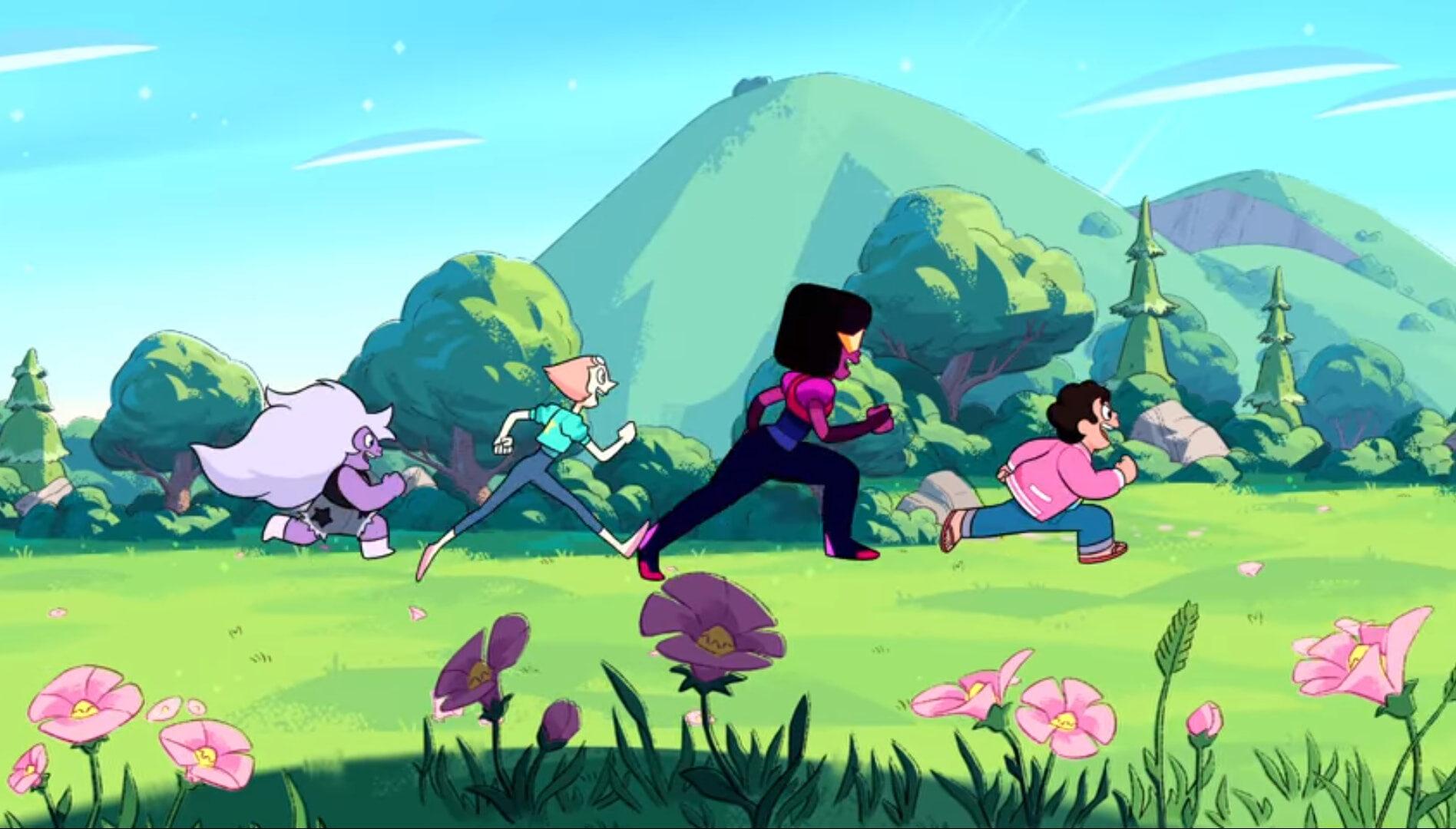 Steven Universe The Movie Crystal Gems