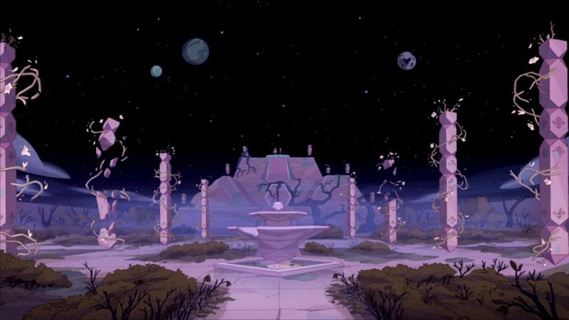 Steven Universe The Movie Pink Garden