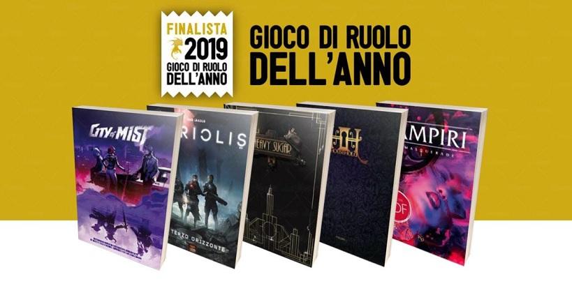 Lucca Comics and Games: i Finalisti del Gioco di Ruolo dell'anno 2019 thumbnail