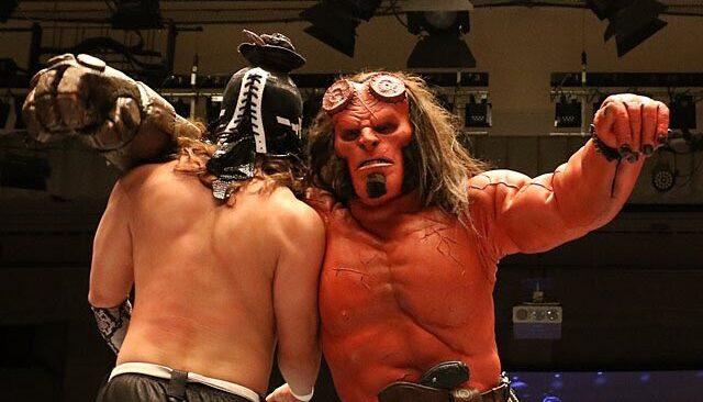 Hellboy debutta nel mondo del wrestling thumbnail