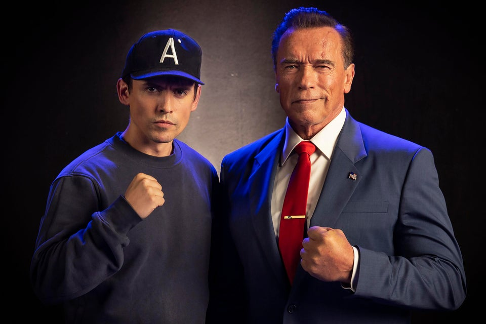 Kung Fury 2: prima foto di Arnold Schwarzenegger sul set thumbnail