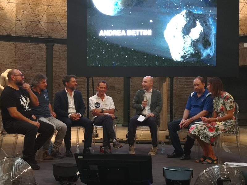 panel AIDA ESA NASA