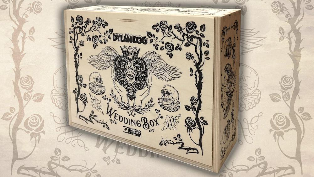 Sergio Bonelli Editore annuncia la Dylan Dog Wedding Box thumbnail