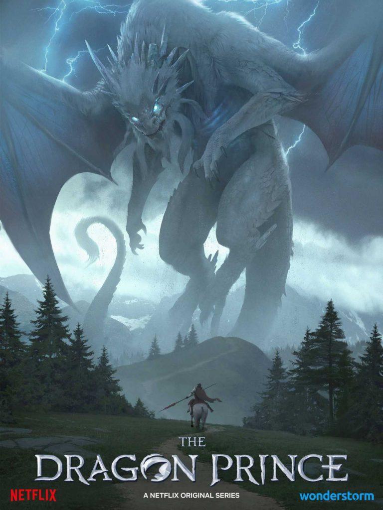 Il principe dei draghi poster terza stagione