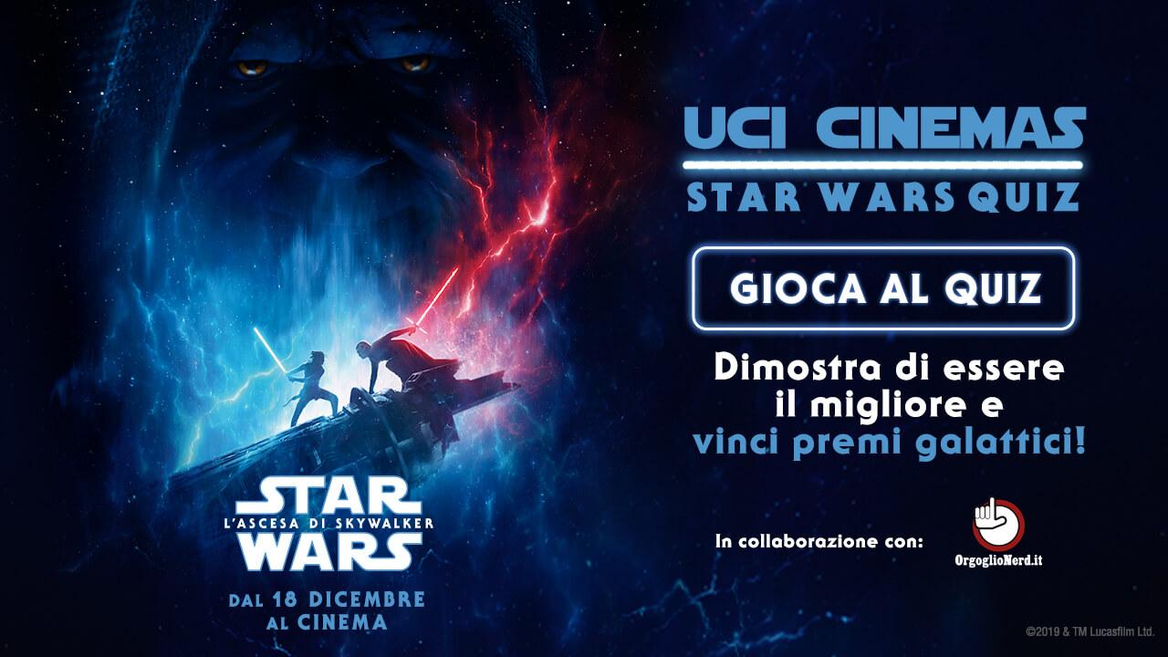 Vinci con UCI Cinemas e Star Wars – L'Ascesa di Skywalker thumbnail