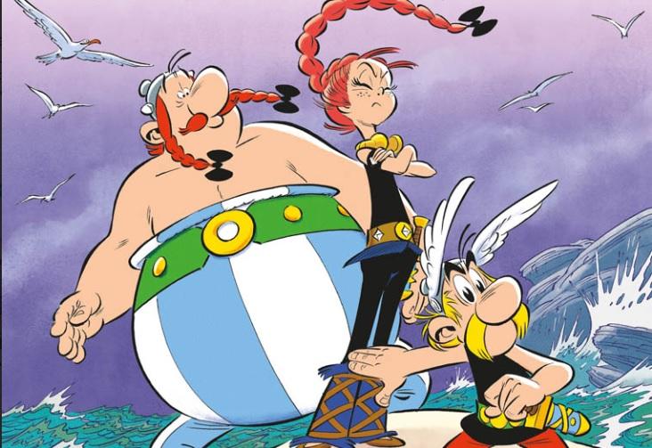 Asterix: svelata la copertina de La figlia di Vercingetorige thumbnail