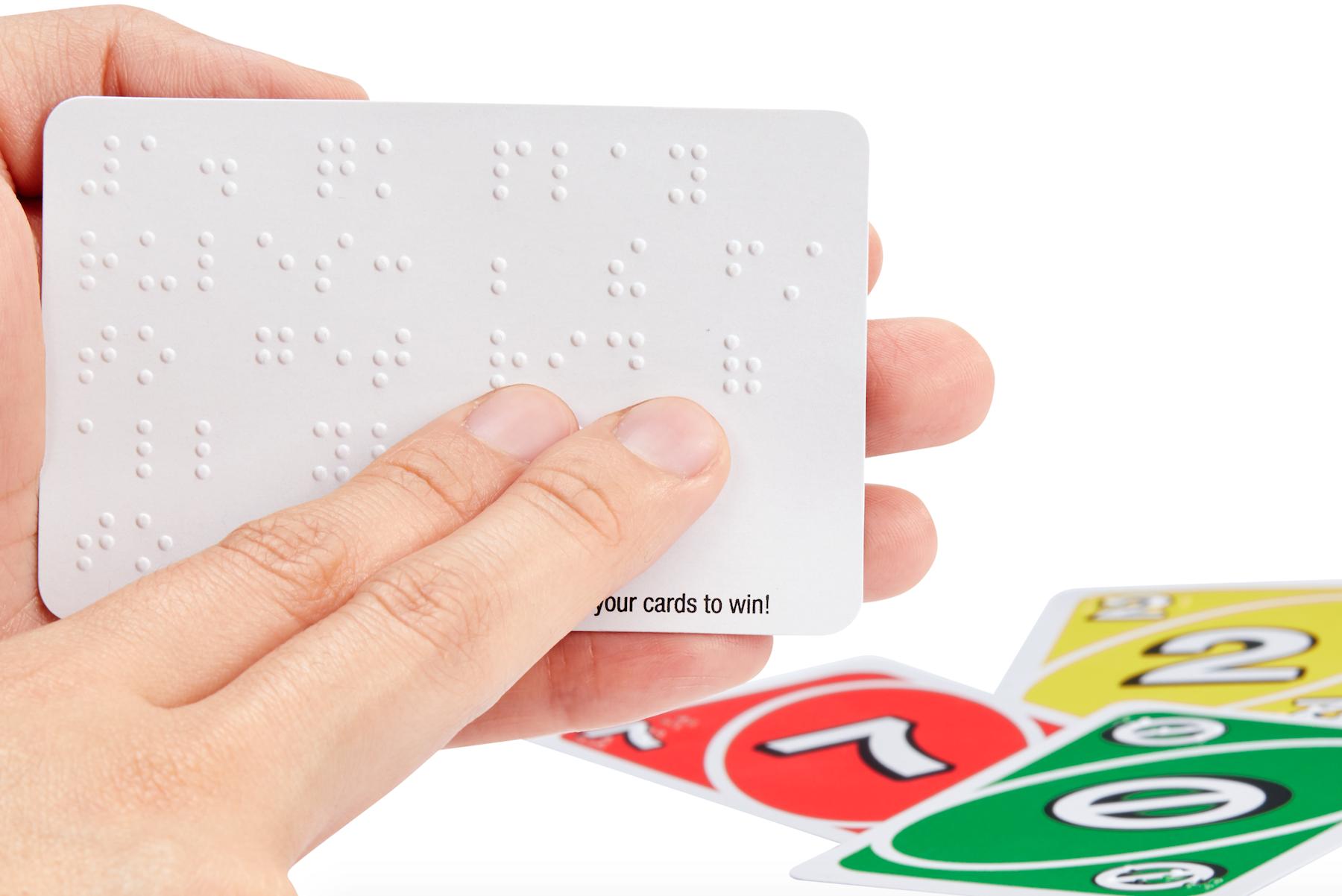 UNO Braille, è nata la nuova versione di UNO per non vedenti thumbnail