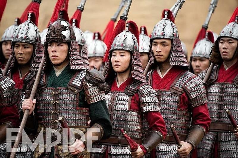 Mulan, immagine Empire