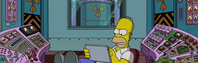 Tipico esempio di impiegato non adatto al lavoro in uno stabilimento per la produzione di energia nucleare.