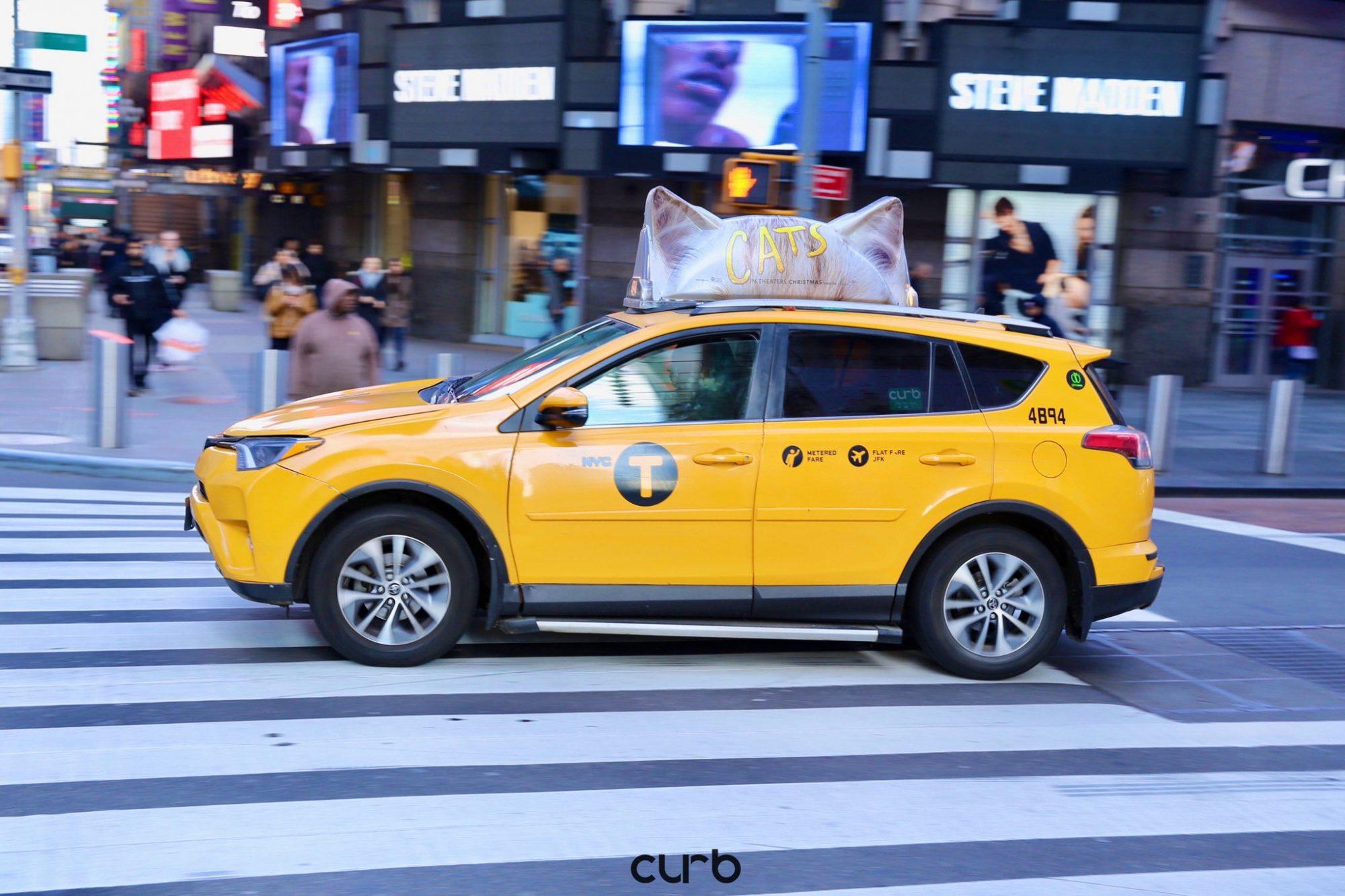Cats: i taxi di New York e l'insolita campagna pubblicitaria thumbnail