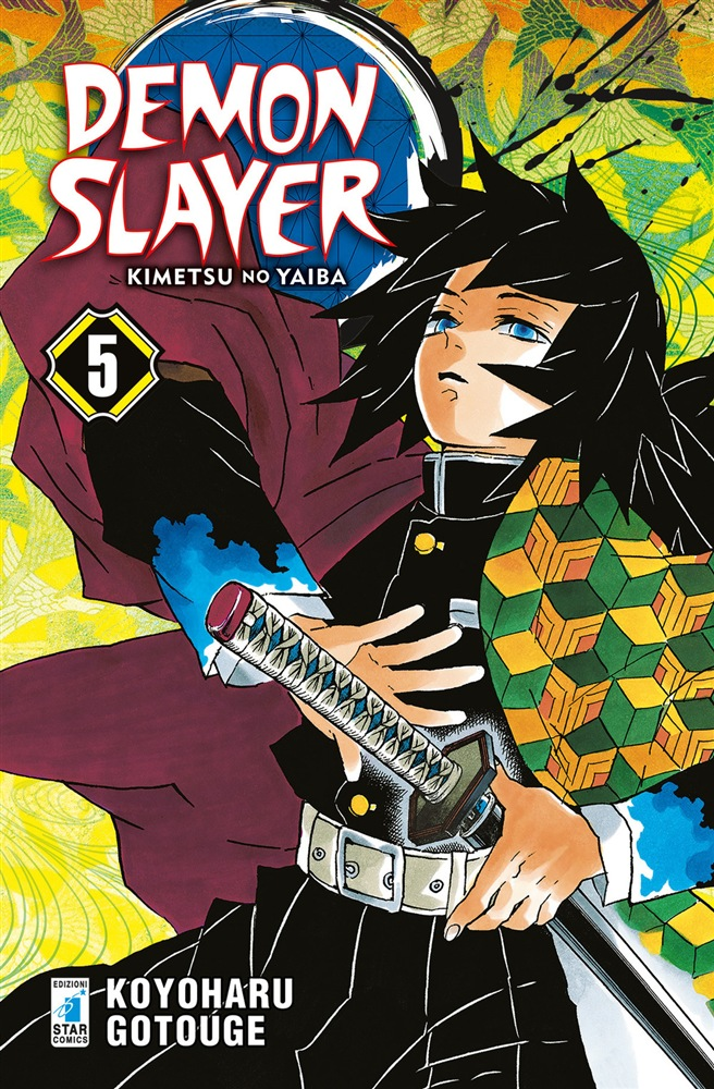 Demon Slayer Kimetsu no Yaiba 5 star comics