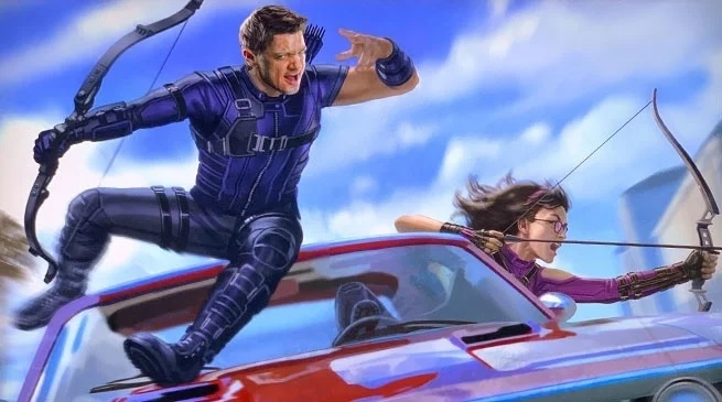 Hawkeye: trapela la prima concept art di Kate Bishop! thumbnail