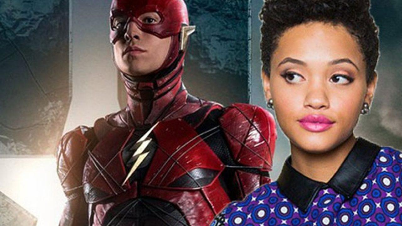Justice League: una foto di Iris West da una scena tagliata thumbnail