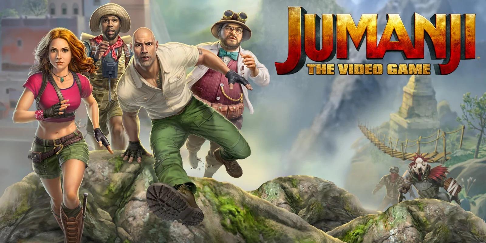 "Bandai Namco: il nuovo ""Jumanji The Video Game"" thumbnail"