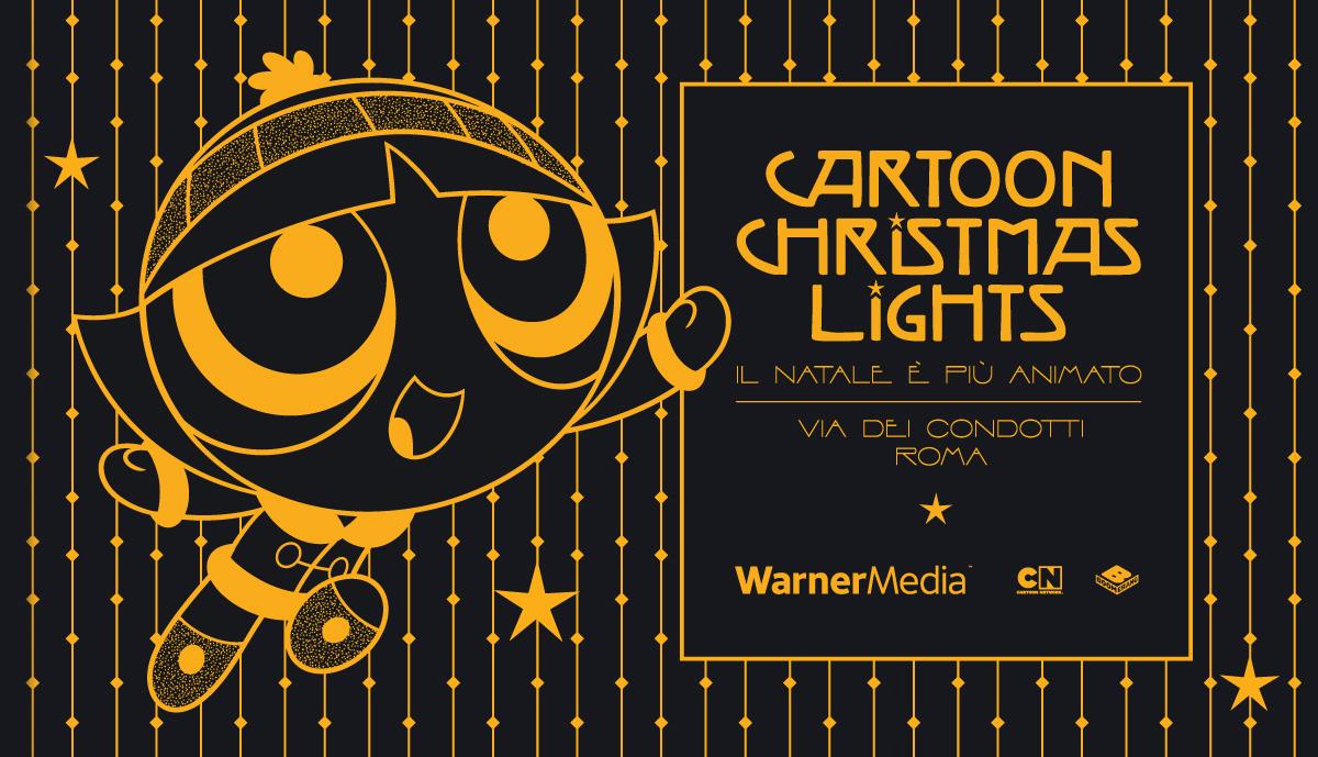 Cartoon Christmas Lights, a Roma le illuminazioni con I personaggi dei cartoni thumbnail