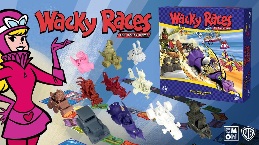Wacky Races: il gioco da tavolo thumbnail