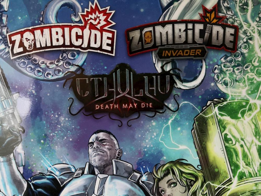 Zombicide e Cthulhu, i giochi di CMON diventano fumetti thumbnail