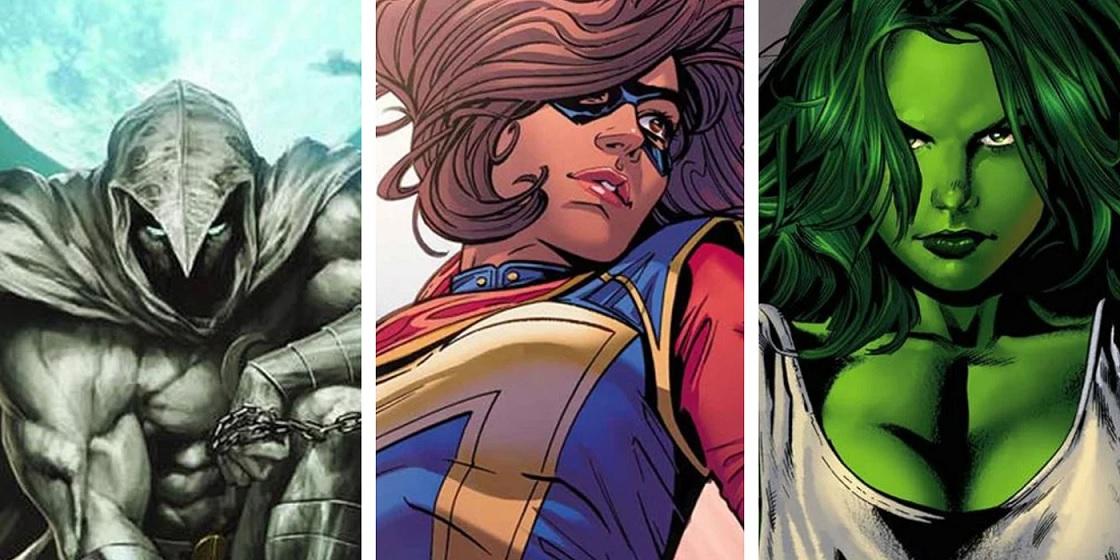 Moon Knight, Ms. Marvel e She-Hulk compariranno anche nei film! thumbnail
