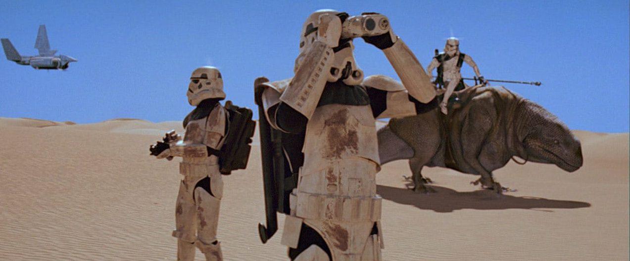star wars disney+ the mandalorian serie live action stormtrooper