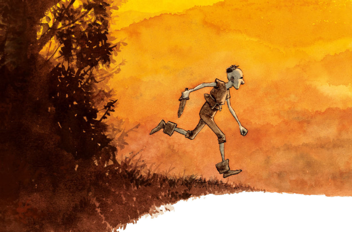 Aldobrando, il nuovo graphic novel di Gipi esce in Francia thumbnail