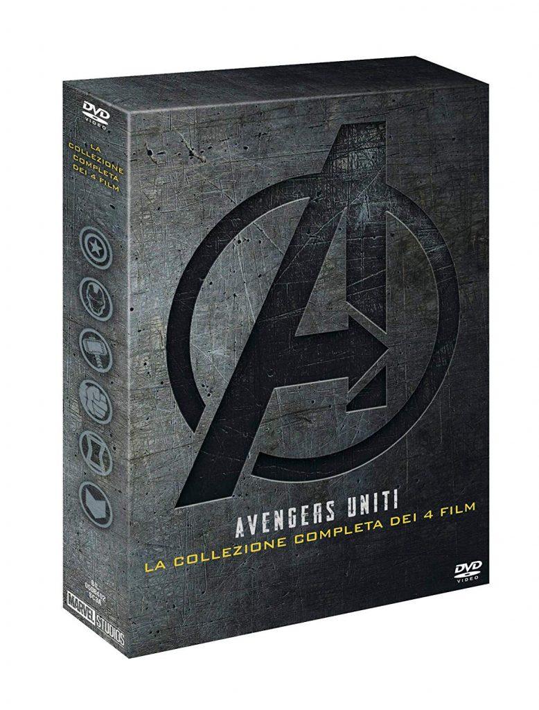 Amazon Marve Avengers DVD