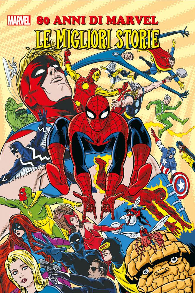 Amazon Marvel 80 anni edizione cartonata