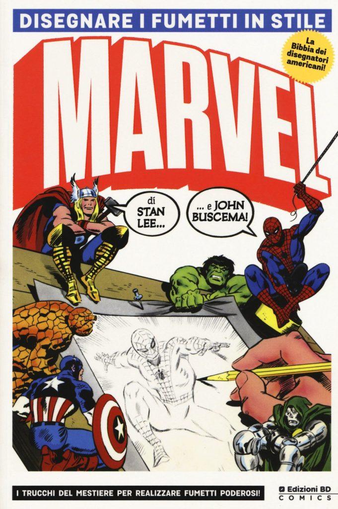 Amazon Marvel Disegnare i fumetti