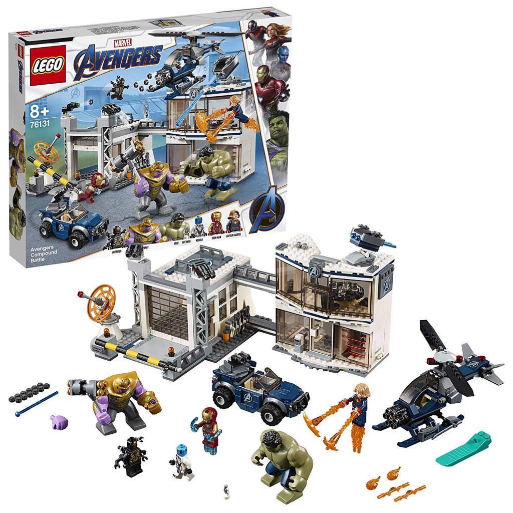 Amazon Marvel Quartier generale Lego