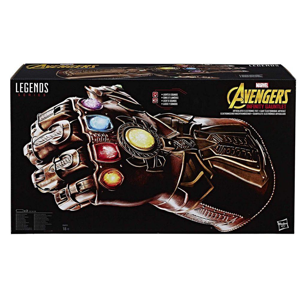 Amazon Marvel guanto dell'infinito Thanos
