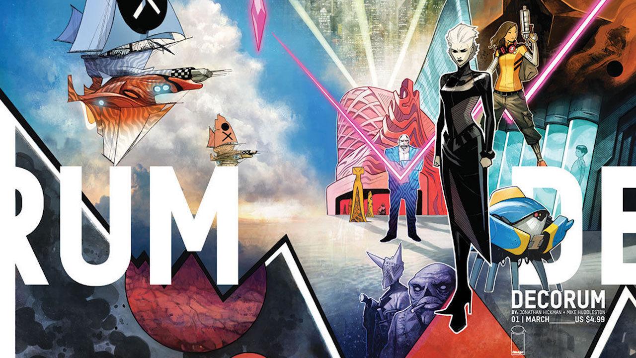 Decorum, la nuova serie a fumetti di J. Hickman e M. Huddleston thumbnail