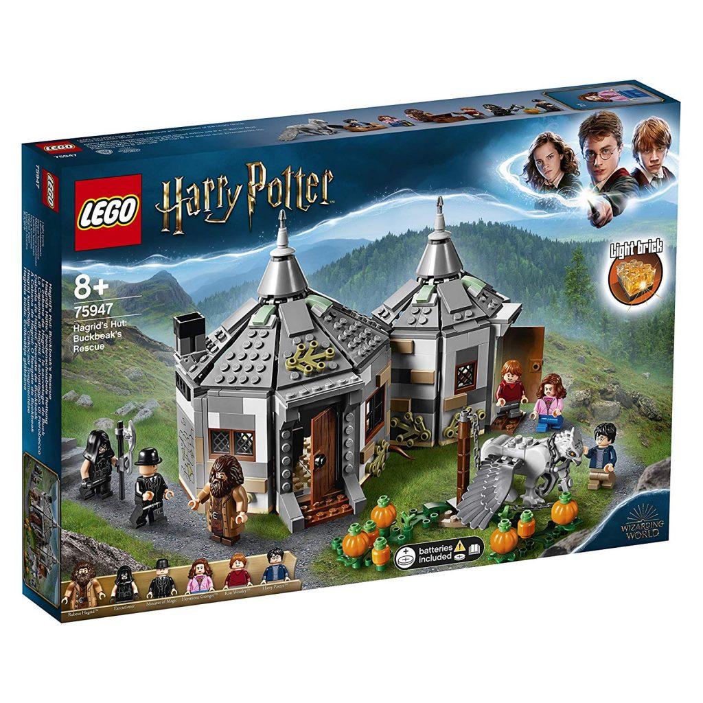 Regali Natale Harry Potter Lego Capanna di Hagrid