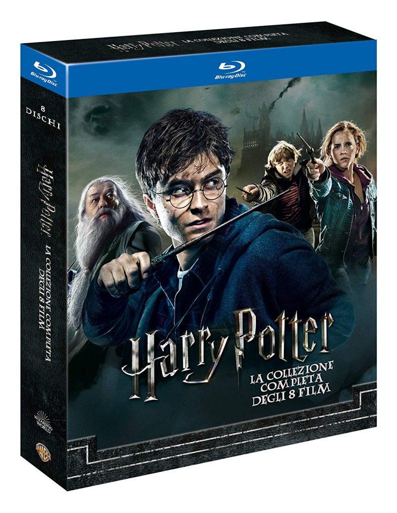 Regali Natale Harry Potter Saga cinematografica Blu-Ray