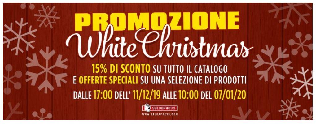 SaldaPress: promozione White Christmas su moltissimi volumi thumbnail