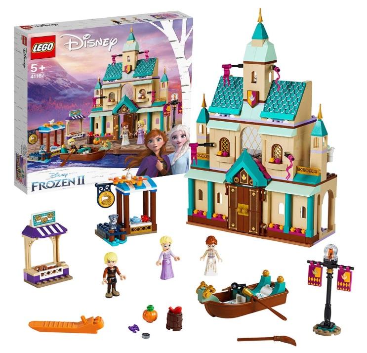 amazon LEGO Frozen Il villaggio del Castello di Arendelle