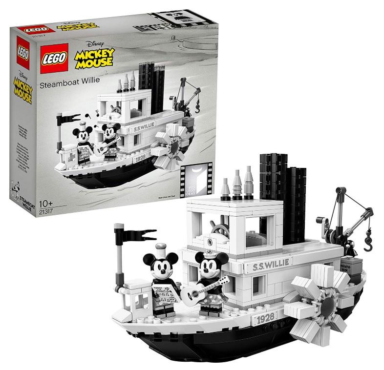 amazon LEGO Steamboat Willie