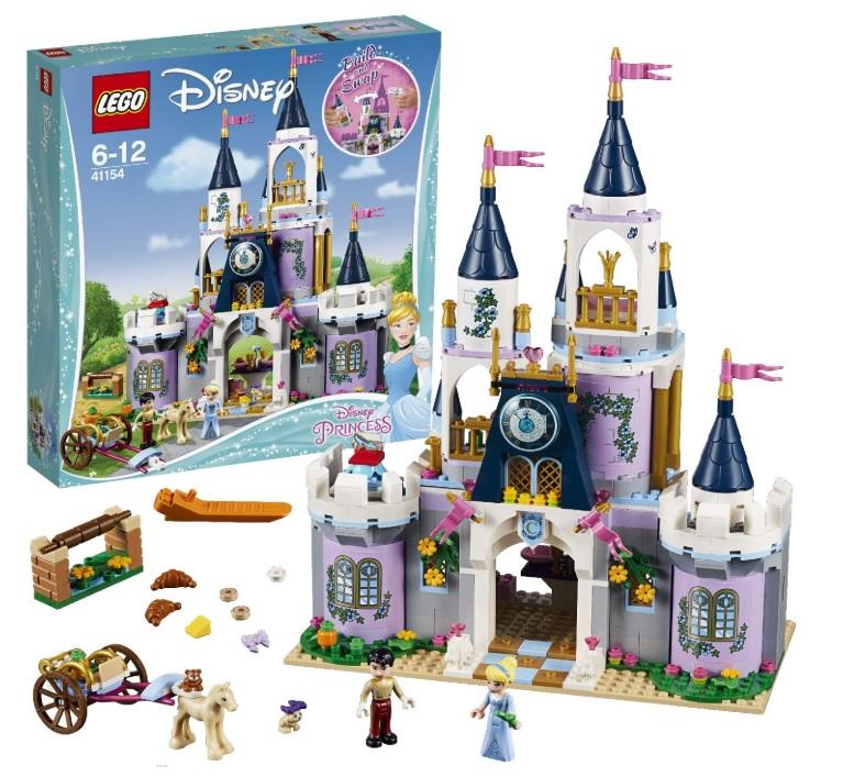 amazon LEGO Disney Princess - Il Castello dei Sogni di Cenerentola