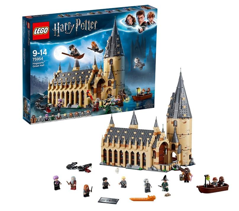 amazon Lego Harry Potter - La Sala Grande di Hogwarts