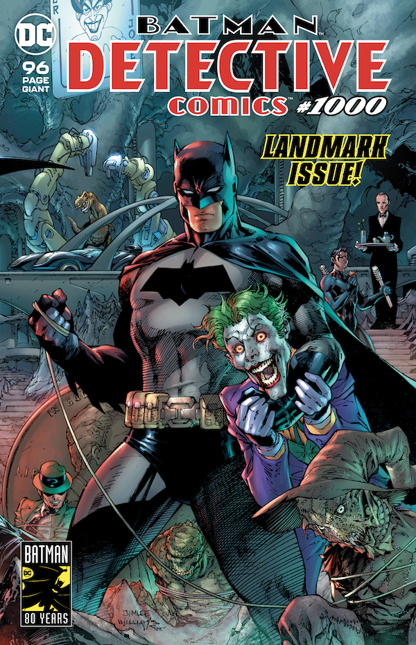 100 fumetti bestseller dc 1000