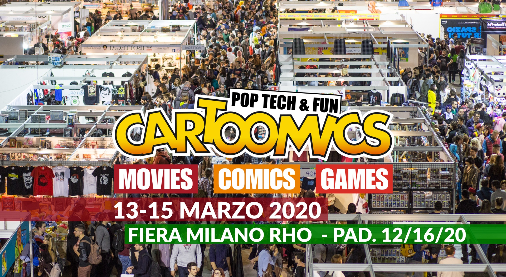 Cartoomics 2020: le novità della 27° edizione thumbnail