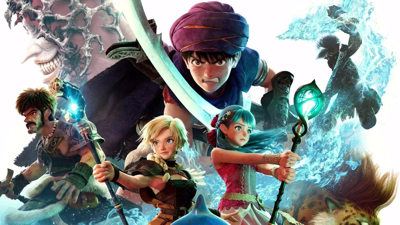 Dragon Quest: il film in arrivo a febbraio su Netflix thumbnail