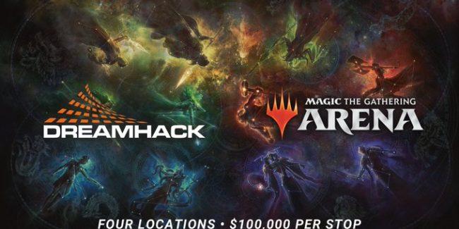DreamHack organizza torneo di Mtg Arena con 100.000 dollari in palio thumbnail