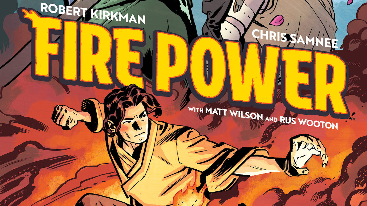 Fire Power: Kirkman annuncia il graphic novel prequel thumbnail