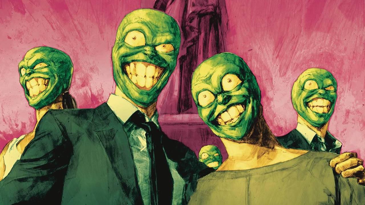 The Mask diventa Presidente degli Stati Uniti nei fumetti thumbnail