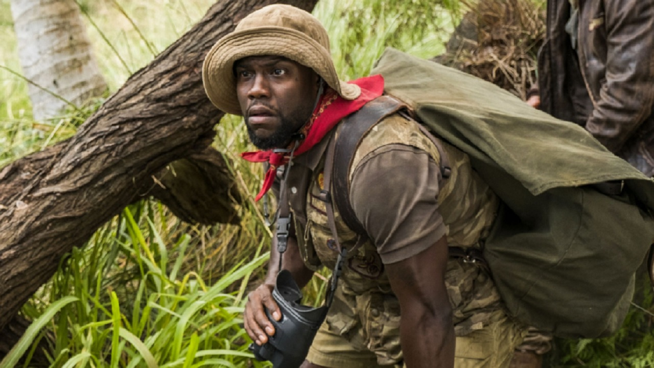 Jumanji: Kevin Hart spiega perché adora le scene in green screen thumbnail