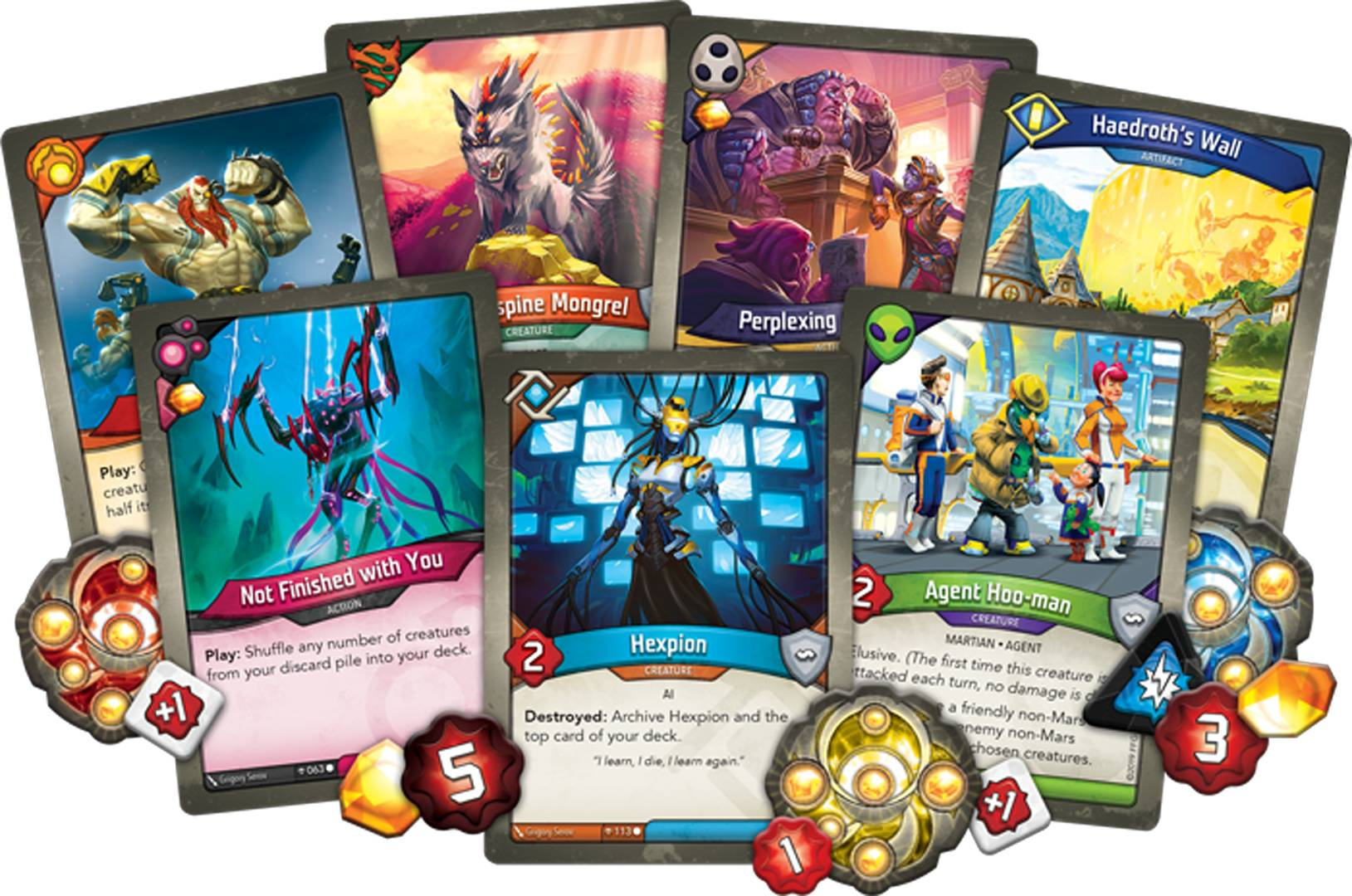 Fantasy Flight annuncia il manuale gdr di KeyForge! thumbnail