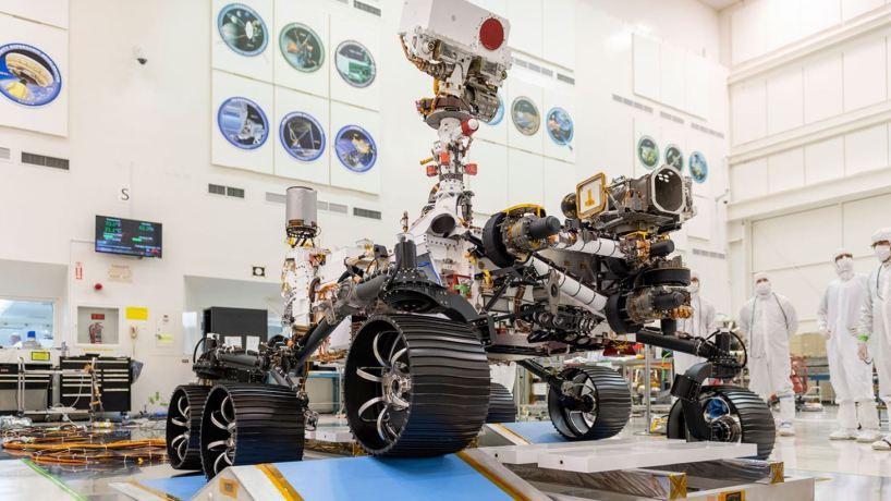 Mars 2020: il nuovo rover ha concluso il primo test di guida thumbnail
