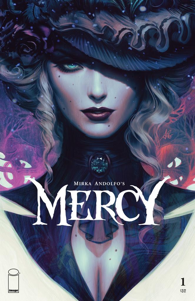 Mercy variant cover Mirka Andolfo Artgerm