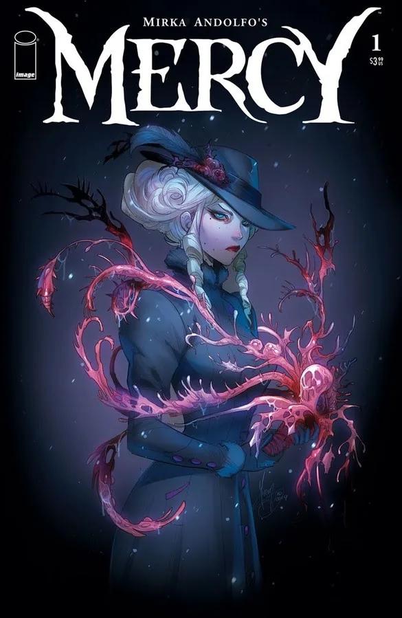 Mercy variant cover Mirka Andolfo