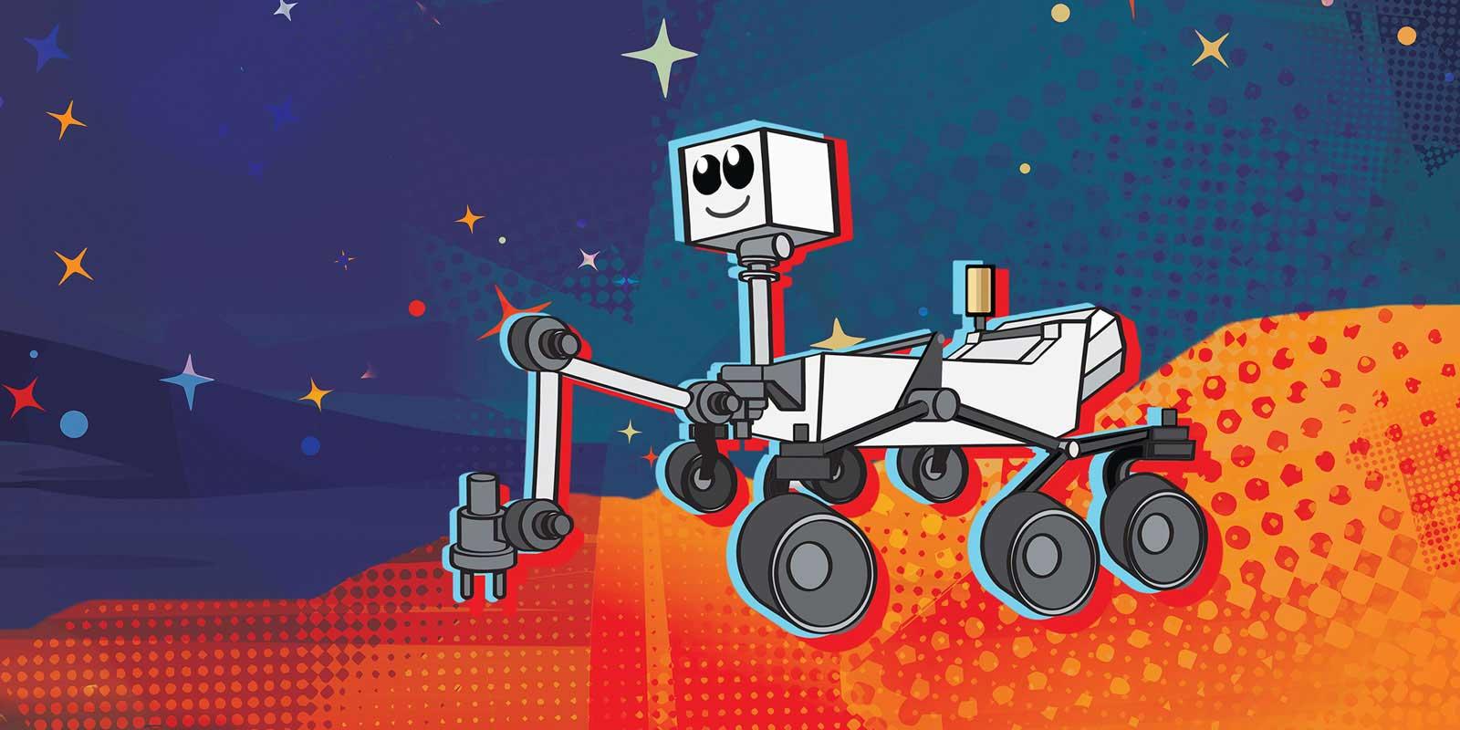 Rover su Marte: un sondaggio per nominare il nuovo robot d'esplorazione thumbnail