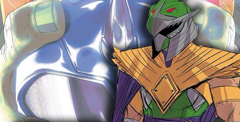 Shredder sarà il Power Ranger verde nel crossover con le Tartarughe Ninja thumbnail